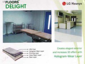 LG Delight Lantai vinyl