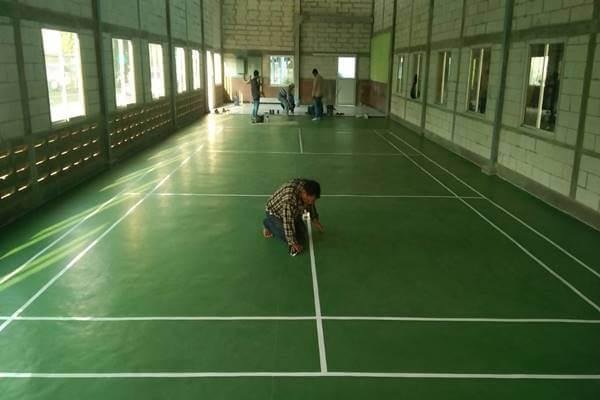 Arena lapangan badminton