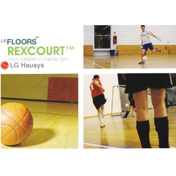 Lantai Vinyl untuk lapangan futsal